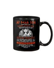 Viking Dad Son Stay Strong Mug front