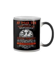 Viking Dad Son Stay Strong Color Changing Mug thumbnail