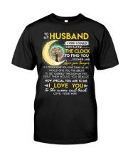 Reading Husband Clock Ability Moon Classic T-Shirt thumbnail