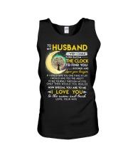 Reading Husband Clock Ability Moon Unisex Tank thumbnail