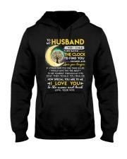 Reading Husband Clock Ability Moon Hooded Sweatshirt thumbnail