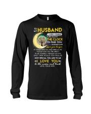 Reading Husband Clock Ability Moon Long Sleeve Tee thumbnail