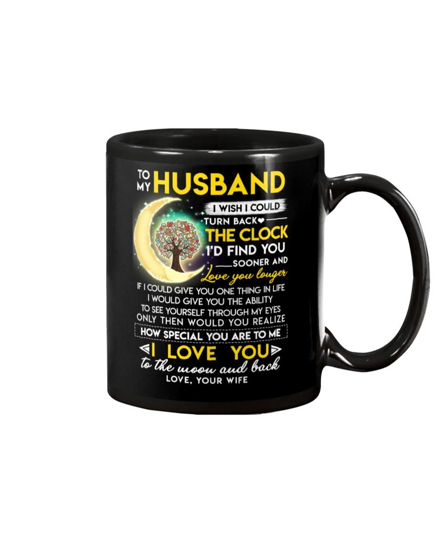 Reading Husband Clock Ability Moon Mug
