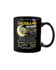 Reading Husband Clock Ability Moon Mug front
