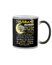 Reading Husband Clock Ability Moon Color Changing Mug thumbnail