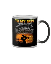 Farmer to my son mug Color Changing Mug thumbnail