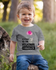 Regional Manager Child Youth T-Shirt lifestyle-youth-tshirt-front-4