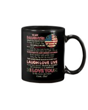 Firefighter Daughter Dad Today Is A Good Day Mug front