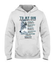 Wolf Son Always remember In This Family  Hooded Sweatshirt thumbnail