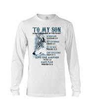 Wolf Son Always remember In This Family  Long Sleeve Tee thumbnail