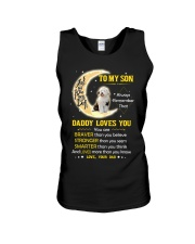 Old English Sheepdog Son Dad Daddy Loves You Unisex Tank tile