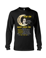 Old English Sheepdog Son Dad Daddy Loves You Long Sleeve Tee thumbnail