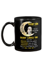 Old English Sheepdog Son Dad Daddy Loves You Mug back