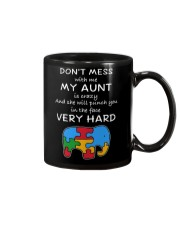 Autism My Aunt Will Punch You In The Face Mug thumbnail