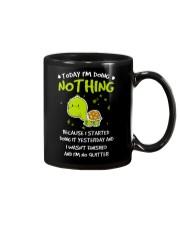 Today I'm Doing Nothing Turtle  Mug thumbnail
