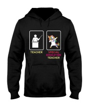 Unicorn Special Education Teacher Hooded Sweatshirt thumbnail
