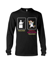 Unicorn Special Education Teacher Long Sleeve Tee thumbnail