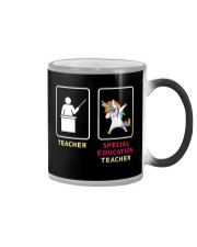 Unicorn Special Education Teacher Color Changing Mug thumbnail