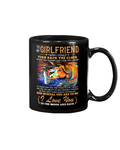 Horse Girlfriend Clock Ability Moon