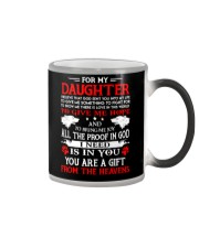 Wolf Daughter Gift From Heavens Color Changing Mug thumbnail