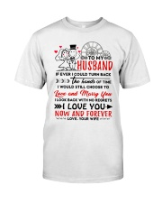 Turn Back Hand Of Time Husband Classic T-Shirt thumbnail