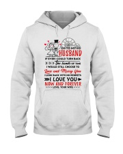 Turn Back Hand Of Time Husband Hooded Sweatshirt thumbnail