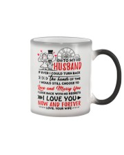 Turn Back Hand Of Time Husband Color Changing Mug thumbnail