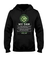 Viking Dad Son Don't Forget I Love You Hooded Sweatshirt thumbnail
