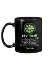 Viking Dad Son Don't Forget I Love You Mug back