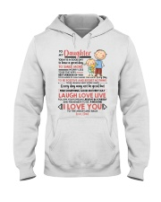 Family Daughter Dad Today Is A Good Day  Hooded Sweatshirt thumbnail