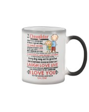 Family Daughter Dad Today Is A Good Day  Color Changing Mug thumbnail