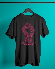 Breast Cancer Warrior Classic T-Shirt lifestyle-mens-crewneck-front-3