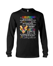 LGBT Girlfriend Ups And Downs Love Long Sleeve Tee thumbnail
