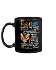 LGBT Girlfriend Ups And Downs Love Mug back