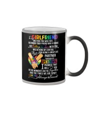 LGBT Girlfriend Ups And Downs Love Color Changing Mug thumbnail
