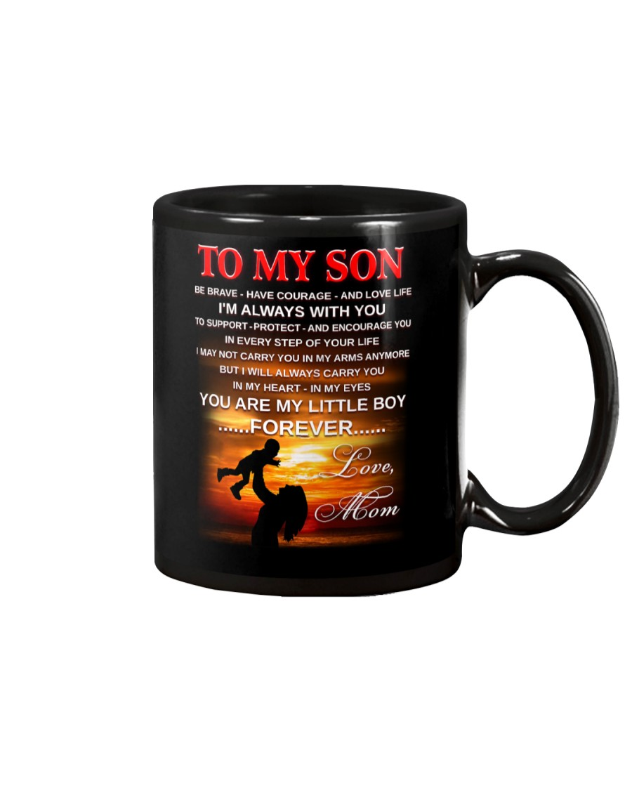 Son Mom Be Brave Mug Mug