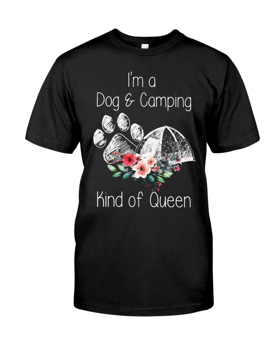 Camping - kind of queen Classic T-Shirt