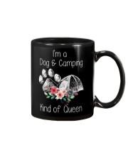 Camping - kind of queen Mug thumbnail