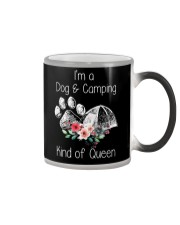 Camping - kind of queen Color Changing Mug thumbnail