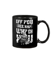 Eff you Trucker shirt Mug thumbnail
