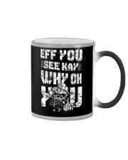 Eff you Trucker shirt Color Changing Mug thumbnail