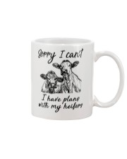 Farmer Plans with my heifers Mug thumbnail
