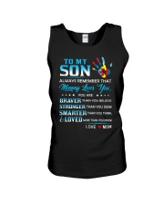Autism Always Remember Mommy Loves You Son Mom Unisex Tank thumbnail