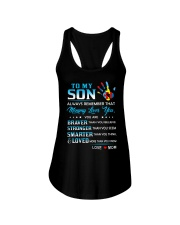 Autism Always Remember Mommy Loves You Son Mom Ladies Flowy Tank thumbnail