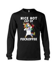 Unicorn Nice Hot Fkoffee Long Sleeve Tee thumbnail