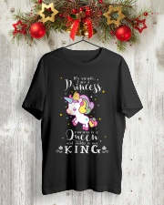 Unicorn Princess Queen King T-shirt Classic T-Shirt lifestyle-holiday-crewneck-front-2