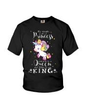 Unicorn Princess Queen King T-shirt Youth T-Shirt thumbnail