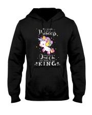 Unicorn Princess Queen King T-shirt Hooded Sweatshirt thumbnail