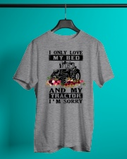 Farmer only love tractor Classic T-Shirt lifestyle-mens-crewneck-front-3