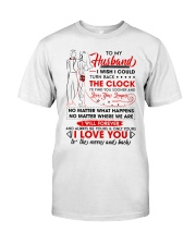 Family Husband Be Yours Clock Moon Classic T-Shirt tile